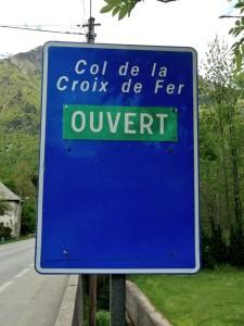 Col de la Croix de Fer is now open
